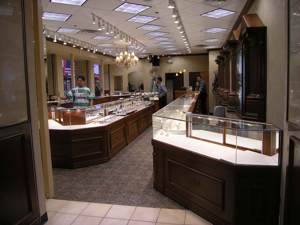 Commerical Retail Stores QConcept Inc Dallas Fort Worth Texas Custom